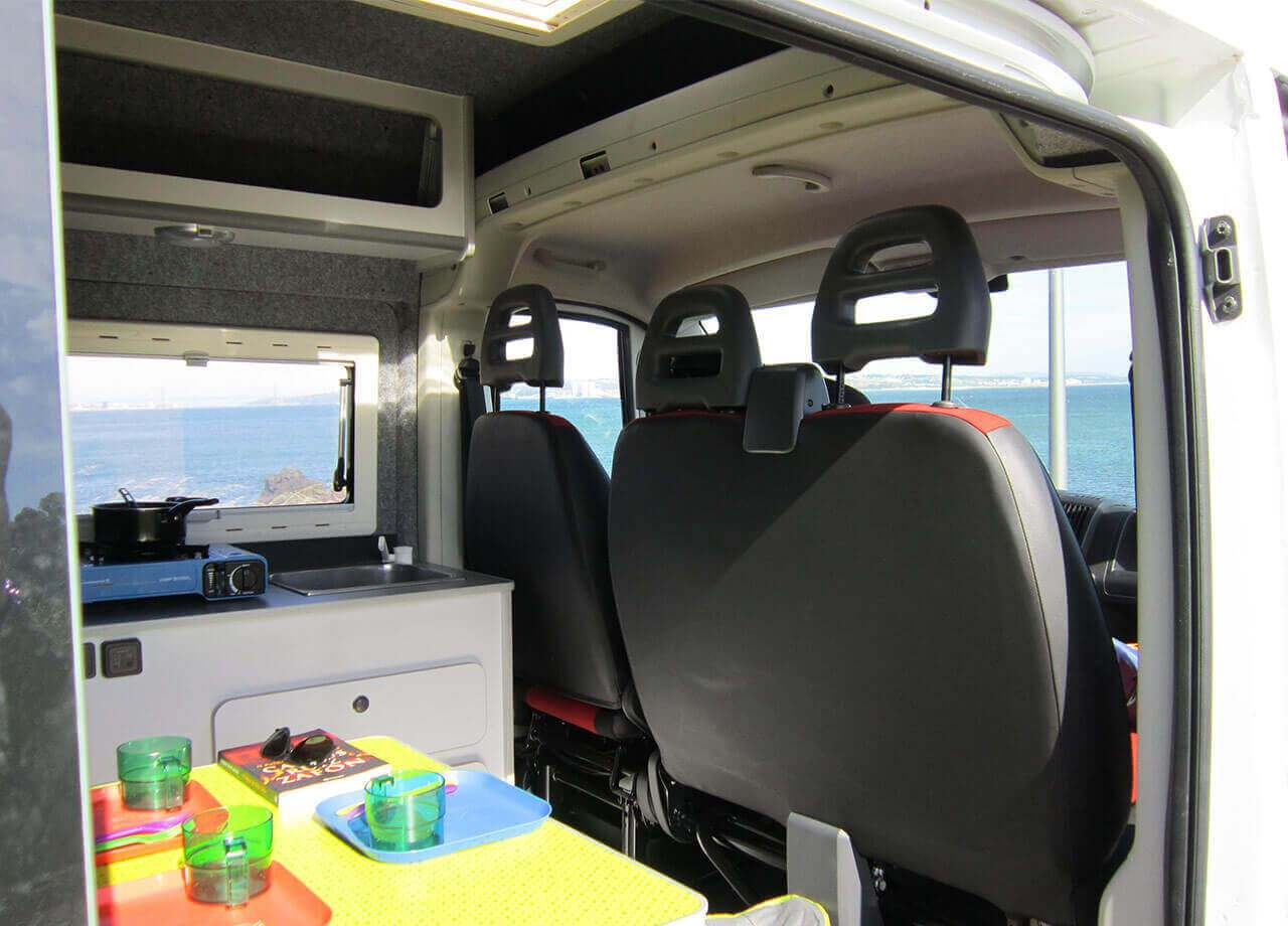 Campervan rental portugal