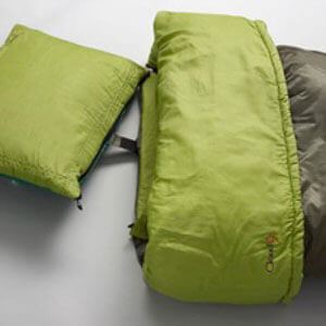 Sleeping bag w/ pillow